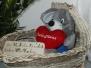 Nocki-Maus im Puppenwagen